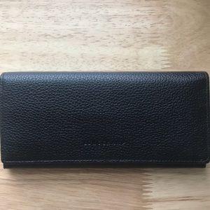 'Veau Foulonne' Continental Wallet - Longchamp